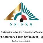 2019 SEIFSA Bursaries in Engineering